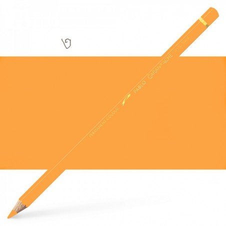 Caran d'Ache Pablo Orangish Yellow Pencil
