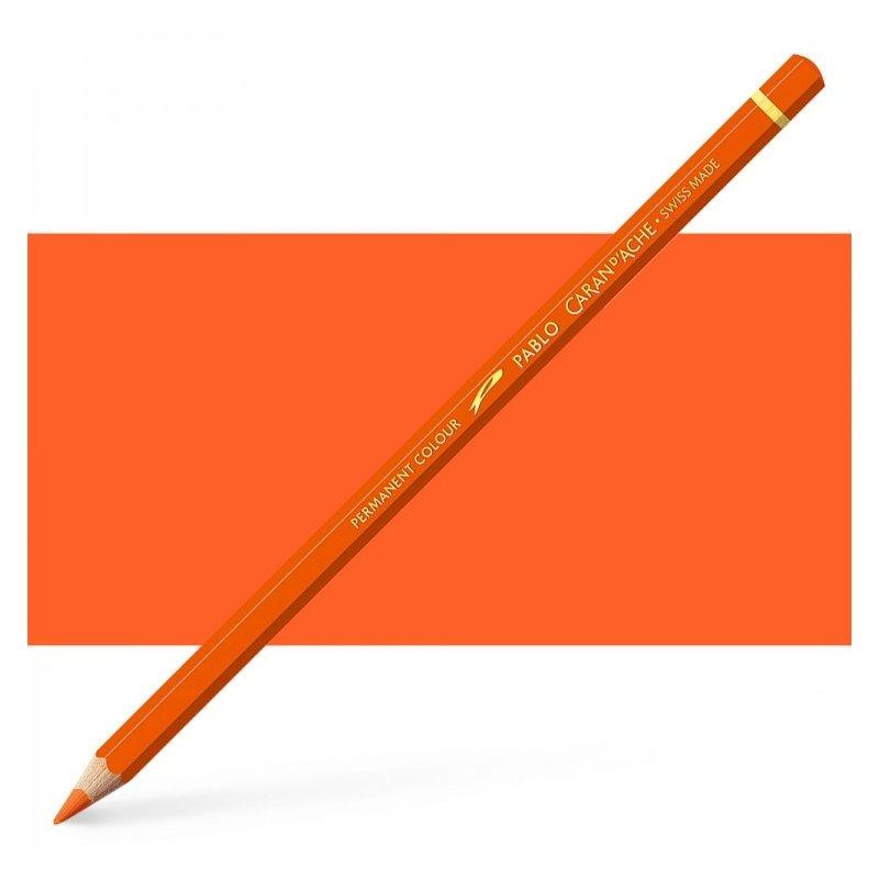 Caran d'Ache Pablo Reddish Orange Pencil