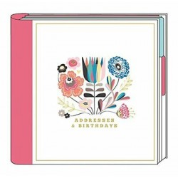 Summer Breeze Address & Birthday Book