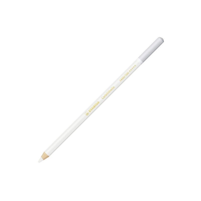 Stabilo Carbothello Chalk-Pastel Titanium White Coloured Pencil