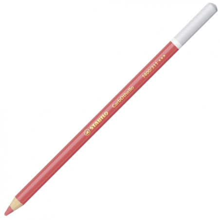 Stabilo Carbothello Chalk-Pastel Mid Carmine Red Coloured Pencil
