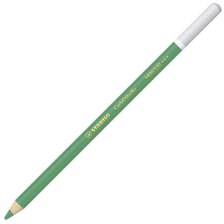 Stabilo Carbothello Chalk-Pastel Emerald Green Coloured Pencil
