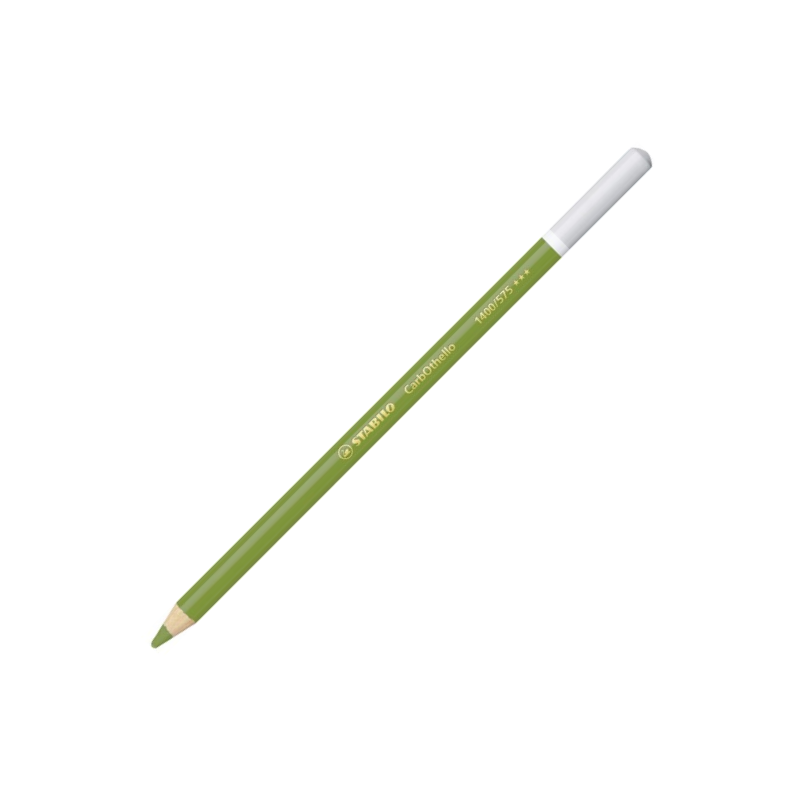 Stabilo Carbothello Chalk-Pastel Leaf Green Coloured Pencil