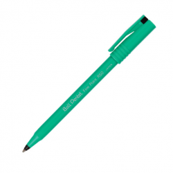 Pentel R50 Rollerball 0.8 mm Pen - Black