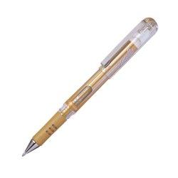Pentel 1.0mm Hybrid Gel Grip DX Broad Metallic Pen - Gold