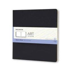Moleskine Art Plus Sketchbook, Square, Squared, Black