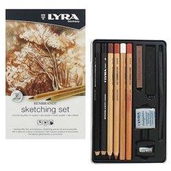 Lyra Rembrandt Pencil Sketching Set