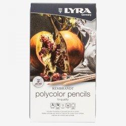 Lyra Rembrandt 12 Polycolor Coloured Pencils Set