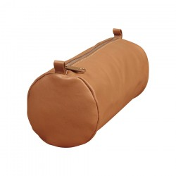 Clairefontaine Age Bag Large Round Pencil case - Brown