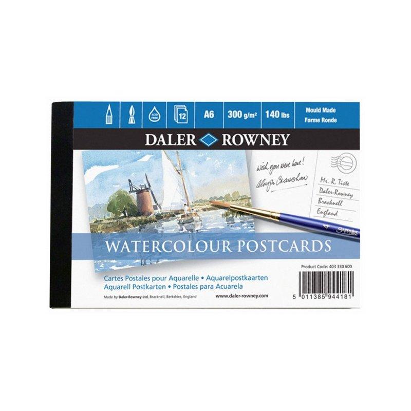 Daler Rowney Watercolour Postcard Pad (A6)