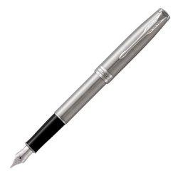 Parker Sonnet Stainless Steel Palladium Trim Fountain Pen