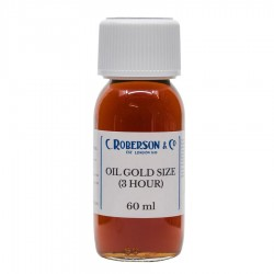 C Roberson Oil Gold Size 60ml 3 hour