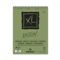 Canson - XL Dessin Drawing Spiral Pad - 160gsm - A4