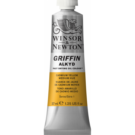 Winsor & Newton Griffin Alkyd Oil Colour Paint 37ml - Cadmium Yellow Med