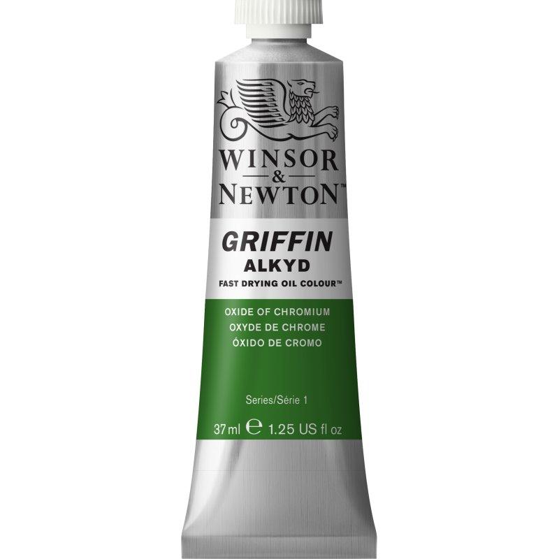 Winsor & Newton Griffin Alkyd Oil Colour Paint 37ml - Oxide Of Chromium