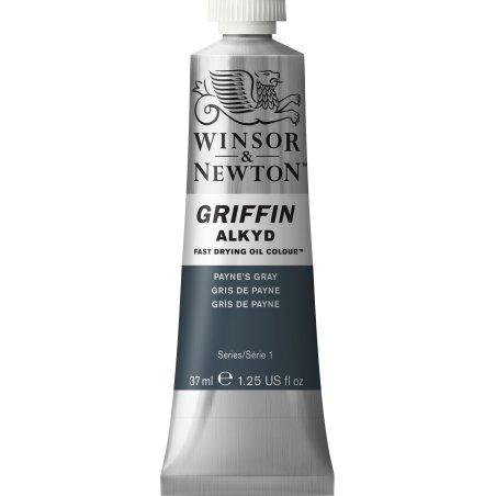 Winsor & Newton Griffin Alkyd Oil Colour Paint 37ml - Payne'S Gray