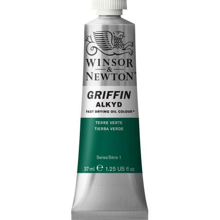 Winsor & Newton Griffin Alkyd Oil Colour Paint 37ml - Terre Verte