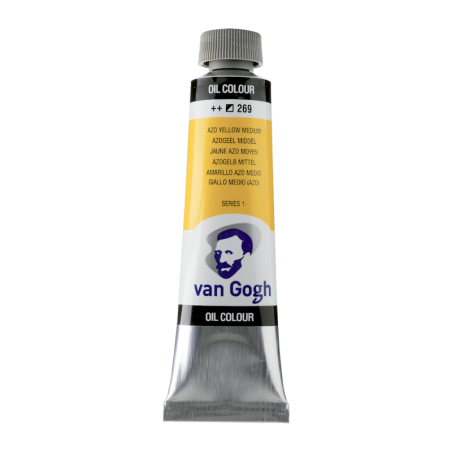 Van Gogh Oil Color 40ml tube - Azo Yellow Medium