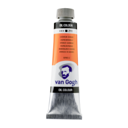 Van Gogh Oil Color 40ml tube - Cadmium Orange