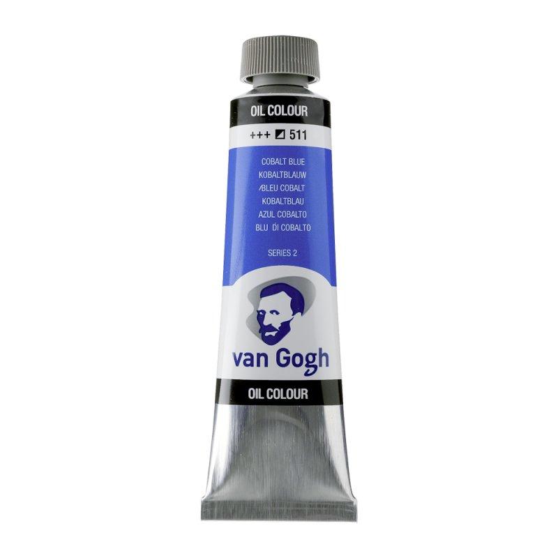 Van Gogh Oil Color 40ml tube - Cobalt Blue