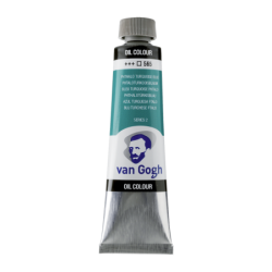 Van Gogh Oil Color 40ml tube - Phthalo Turquoise Blue
