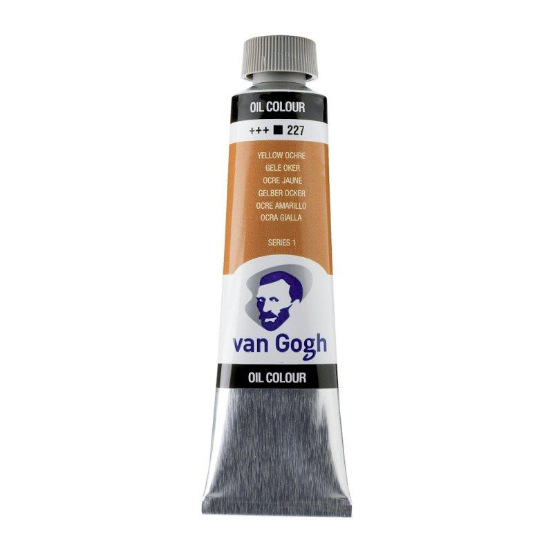 Van Gogh Oil Color 40ml tube - Yellow Ochre