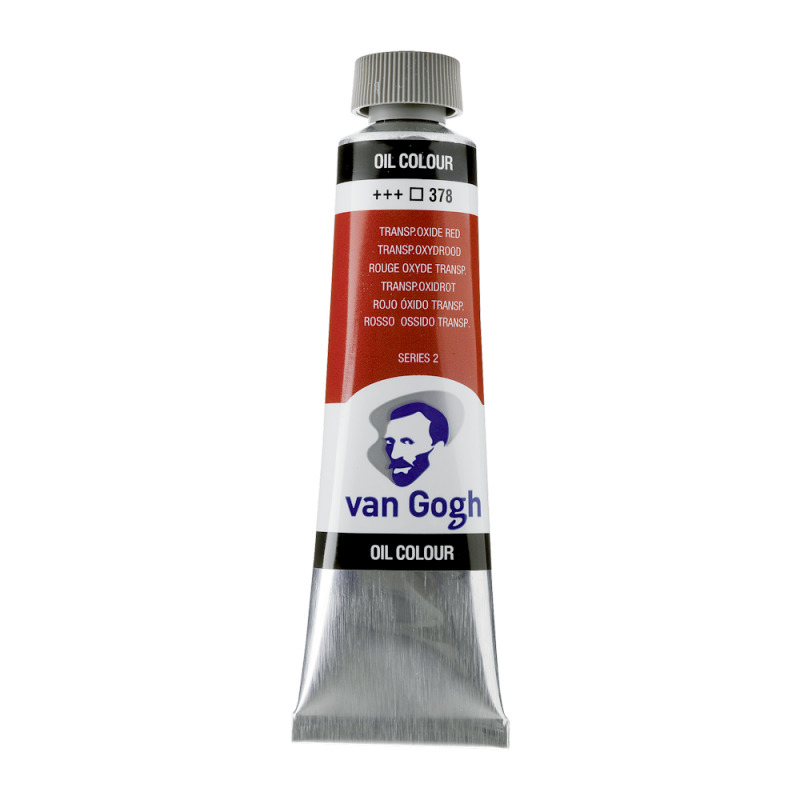 Van Gogh Oil Color 40ml tube - Transparent Oxide Red