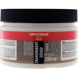 Amsterdam AAC Gesso 250ml - Transparent