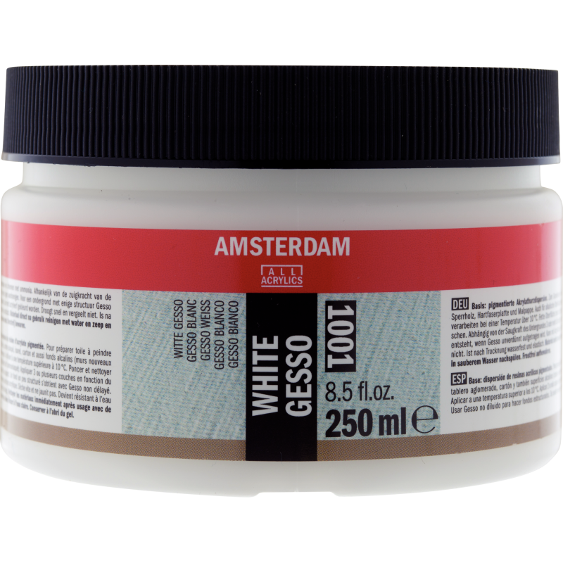 Amsterdam AAC Gesso 250ml - White