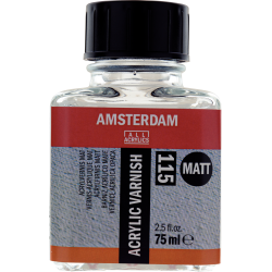 Amsterdam Acrylic Varnish Matt 115 Bottle 75 ml