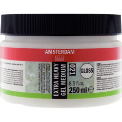 Amsterdam Acrylic Extra Heavy Gel Medium 250ml - Gloss