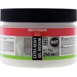 Amsterdam Acrylic Extra Heavy Gel Medium 250ml - Matt