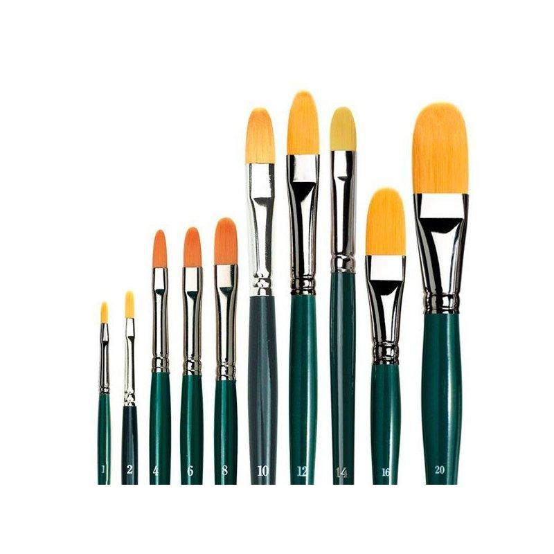 Series 1375 NOVA Synthetic Filbert Hobby Brushes