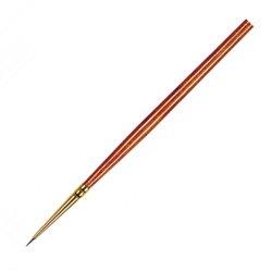 Pro Arte Prolene Plus Series 007 Short Handle Round Paint Brushes - Size 4/0
