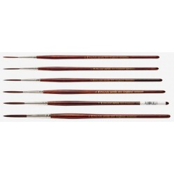 Pro Arte Acrylix Series 203 Short handle Riggers Painting Brushes