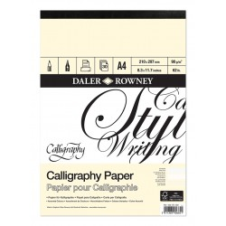 Daler Rowney Calligraphy Pad - A4