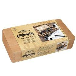 Winsor & Newton Calligraphy Wooden Box Set