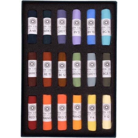 Unison Les Darlow Soft Pastel Landscape Set of 18