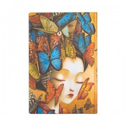 Paperblanks Madame Butterfly Horizontal Mini 2022 Planner