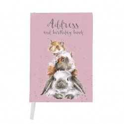 """Wrendale Designs """"Piggy in the Middle"""" Address Book"""