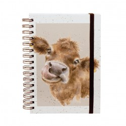 Wrendale Designs Mooo Cow A5 Notebook