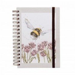 Wrendale Designs Flight of the Bumble Bee A5 Notebook