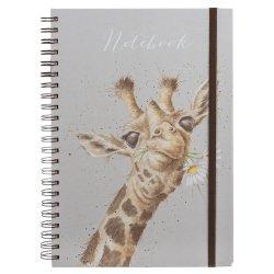 Wrendale Designs Giraffe A4 Notebook