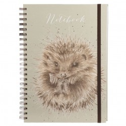 Wrendale Designs Hedgehog Awakening A4 Notebook
