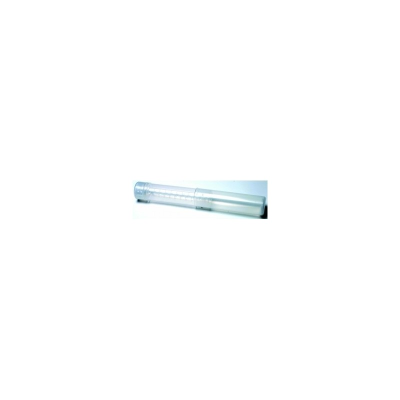 Clear PVC Brush Tube